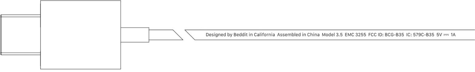 Beddit 3.5 FCC