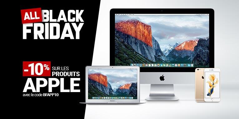 Black Friday 2016 Apple Rue du Commerce