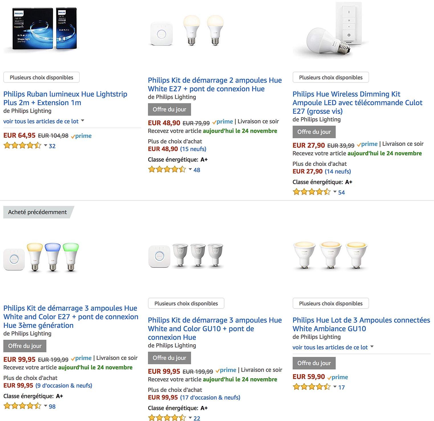 Philips Hue Amazon