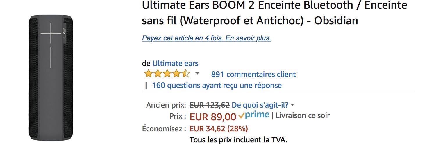UE Boom Amazon