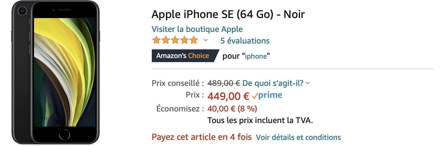 iPhone SE Black Friday Amazon