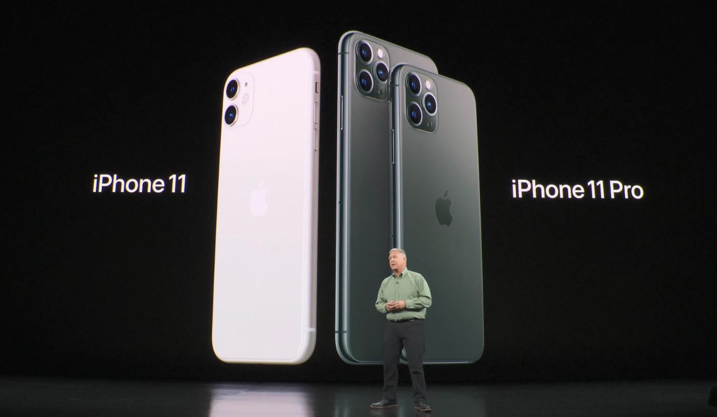 Phil Schiller iPhone 11
