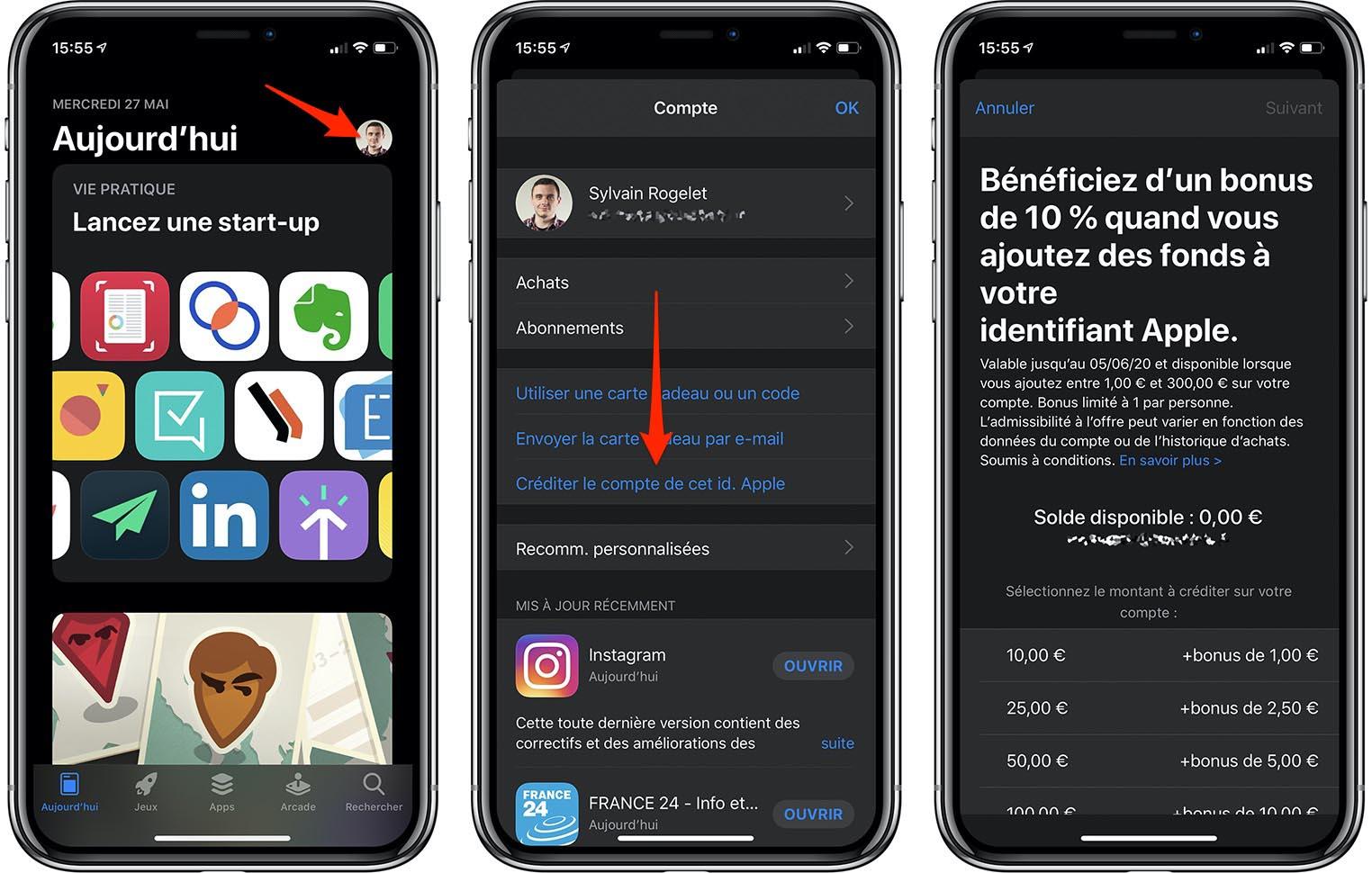 Bonus App Store