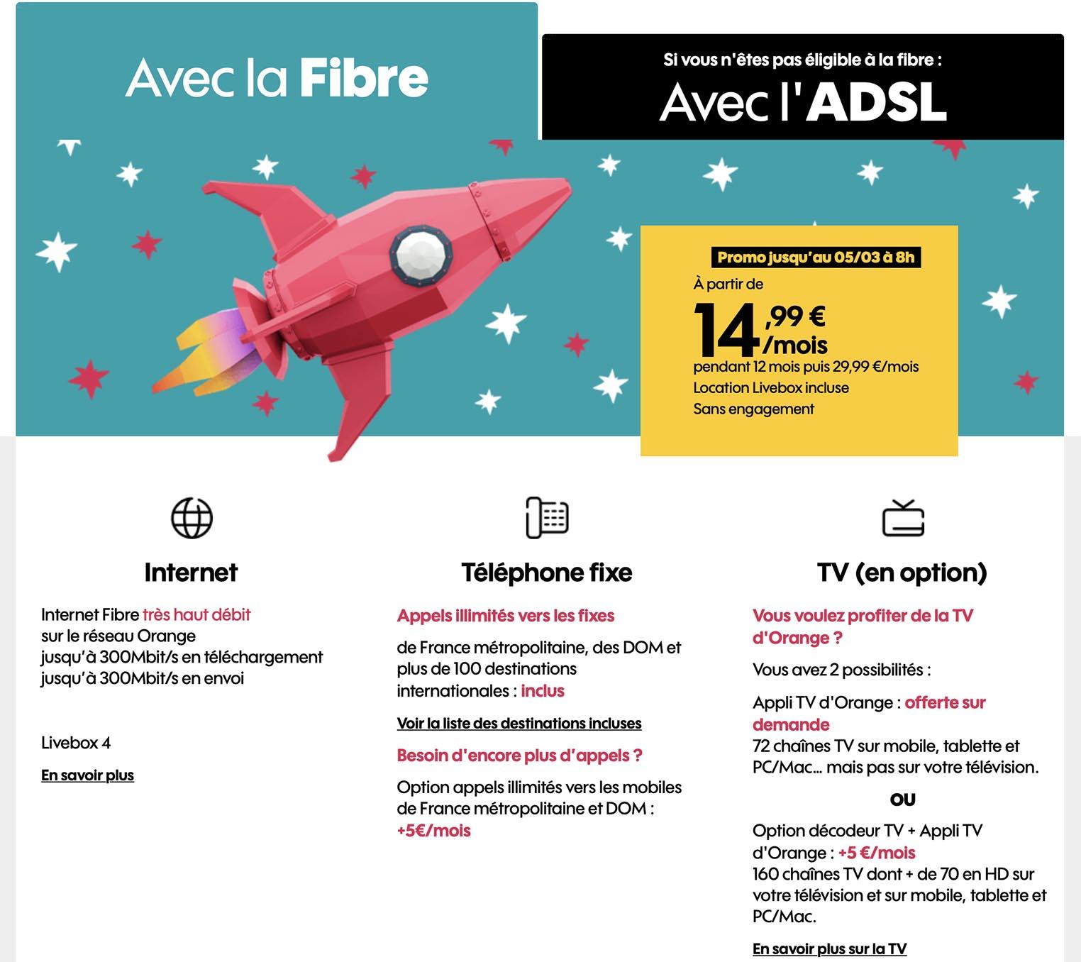 Sosh fibre promo
