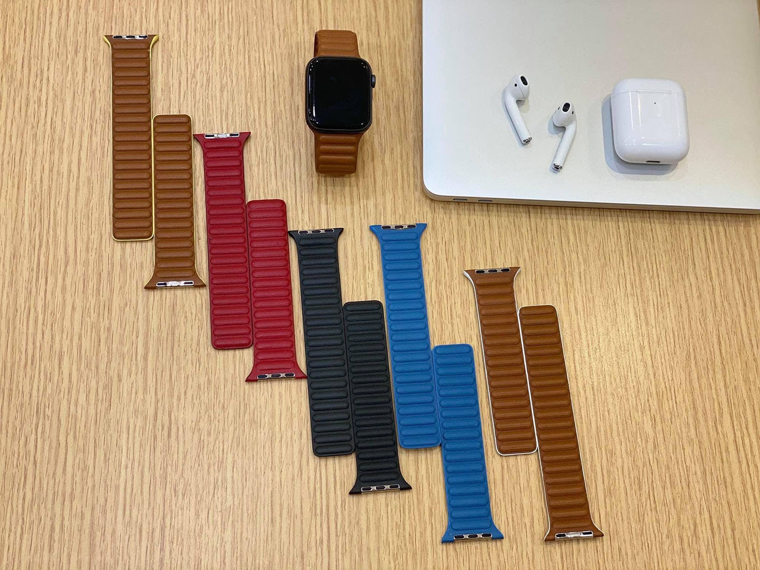 Bracelets cuir Apple Watch 2020 fuite
