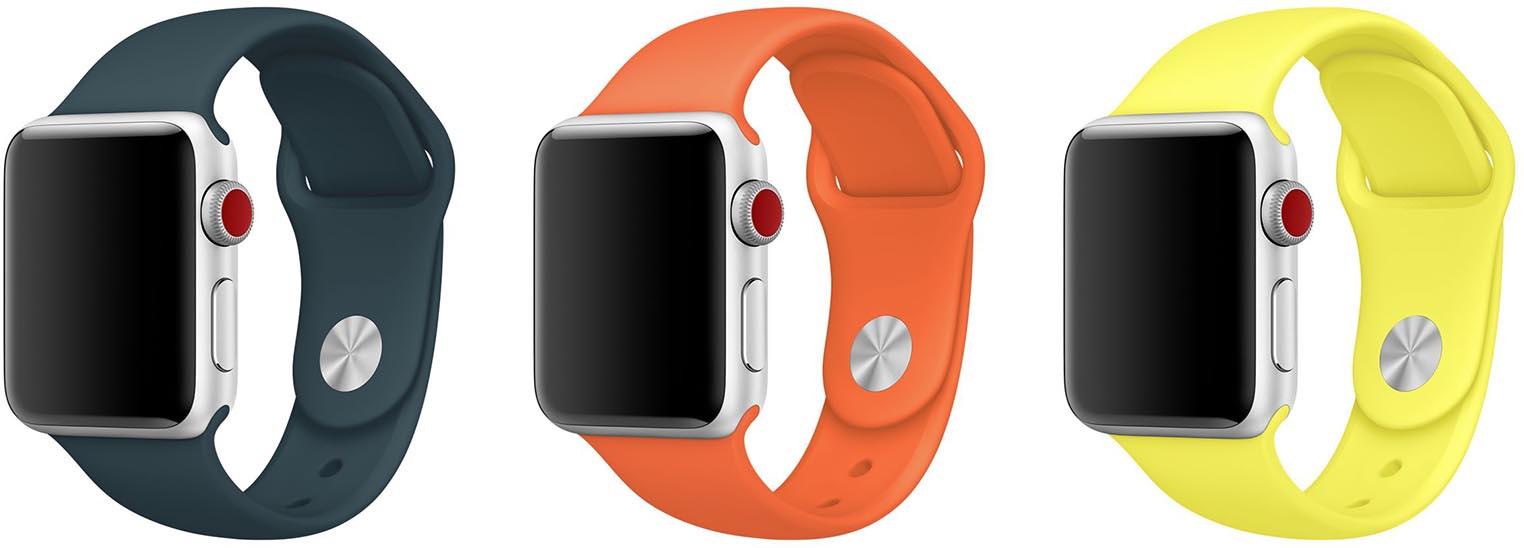 Bracelets Apple Watch décembre 2017