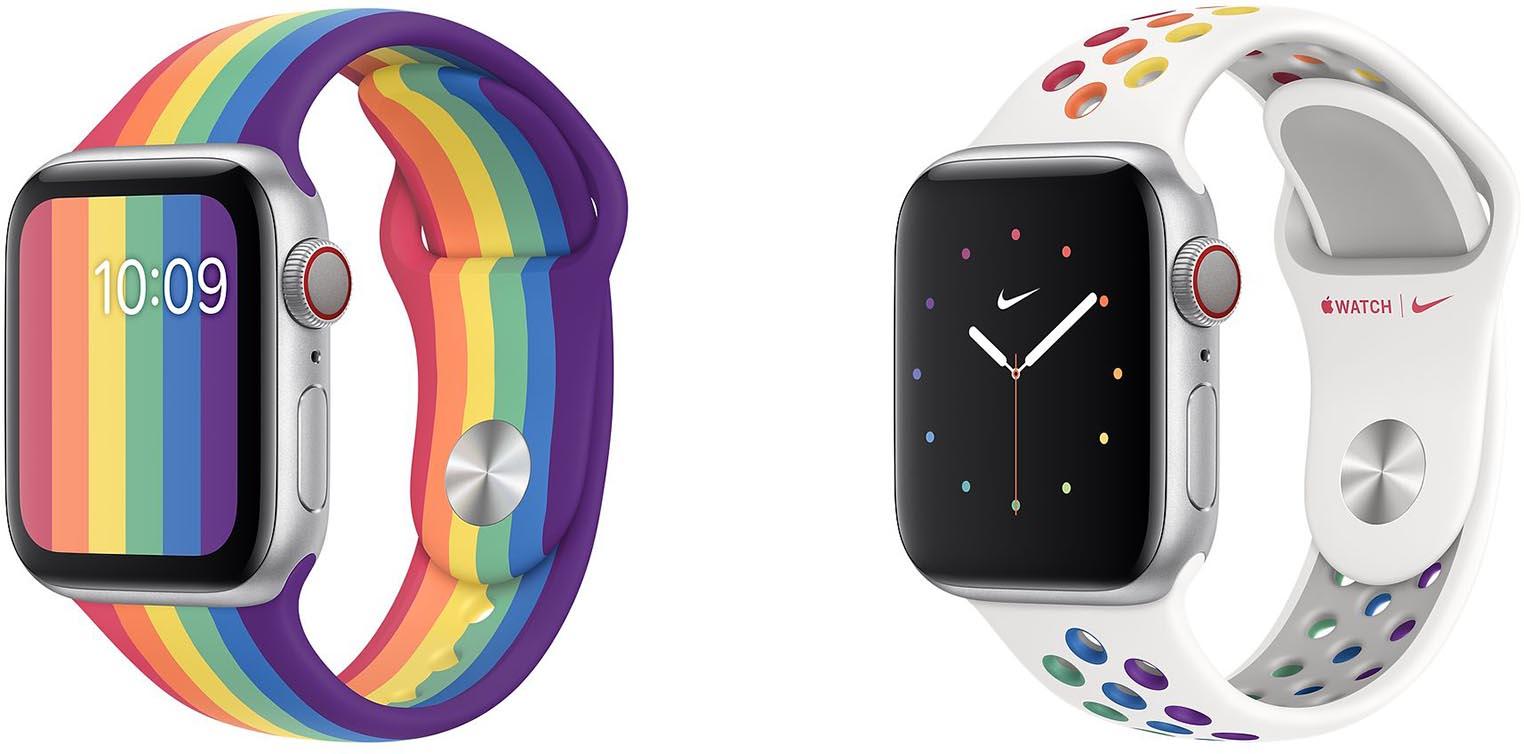 Apple Watch bracelets Pride Edition 2020