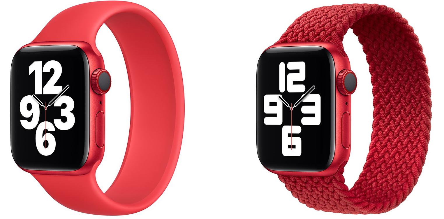 Bracelets Apple Watch RED