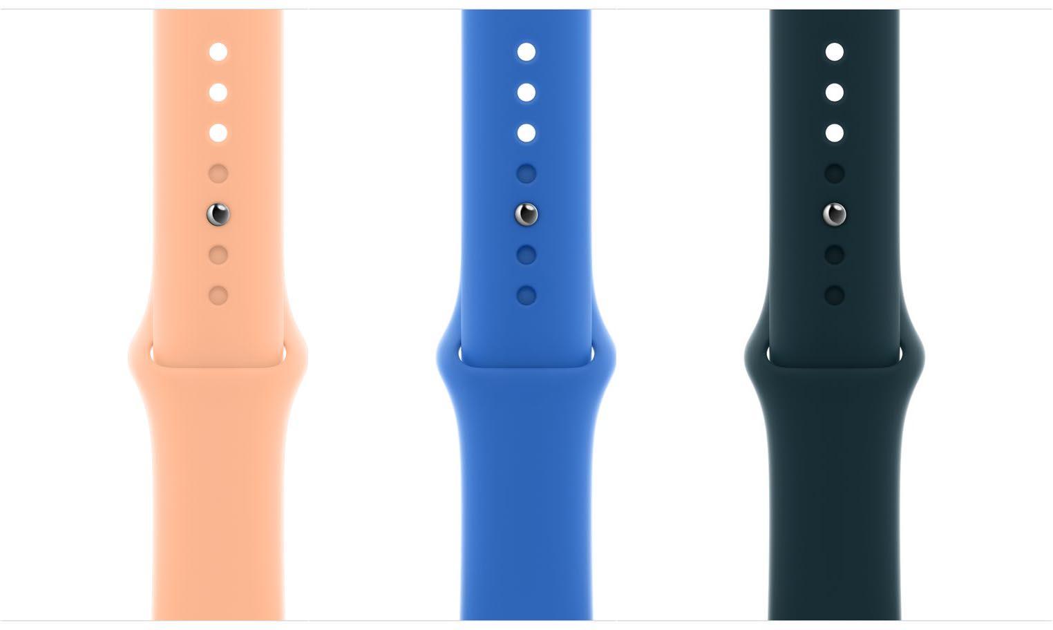 Bracelets Apple Watch printemps 2021