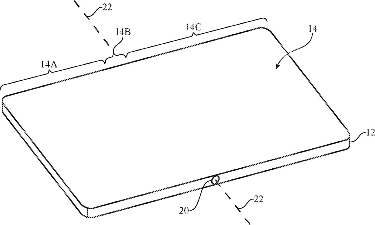 Brevet iPhone écran flexible