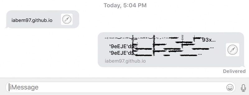 Bug Messages GitHub