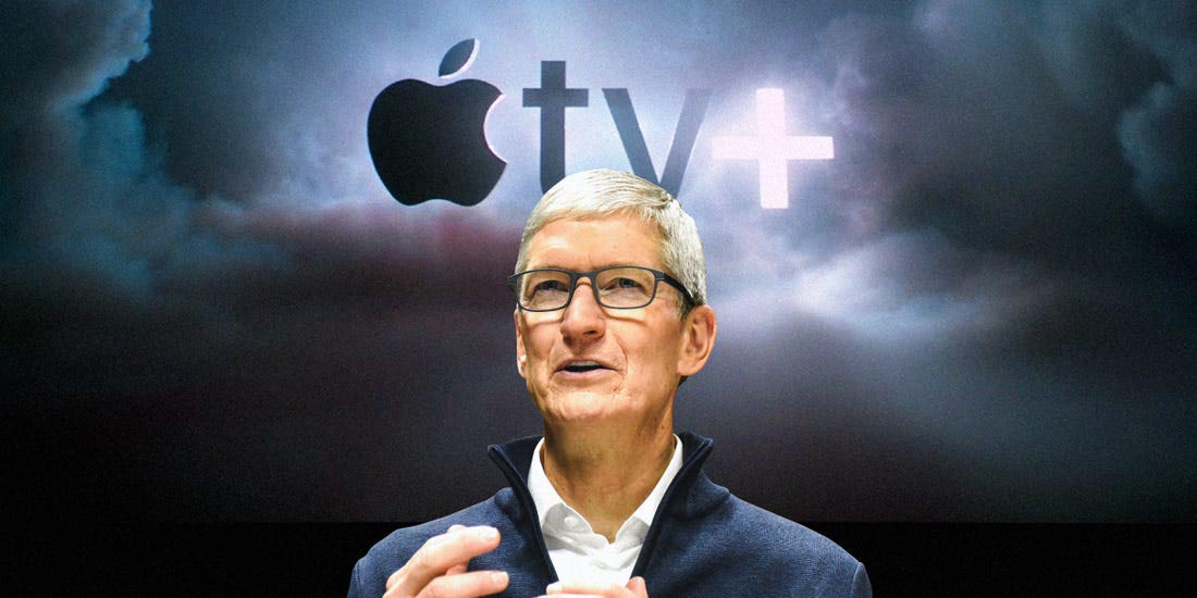 Tim Cook Apple TV+