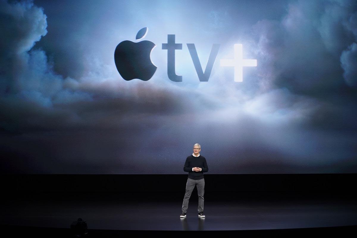 Tim Cook Apple TV+