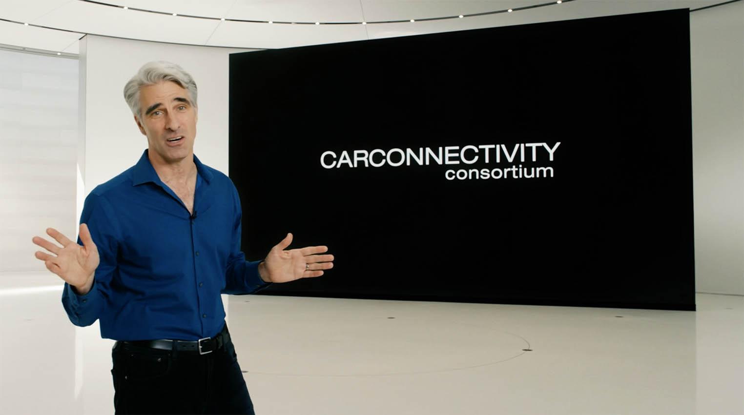 Car Connectivity Consortium Craig Federighi