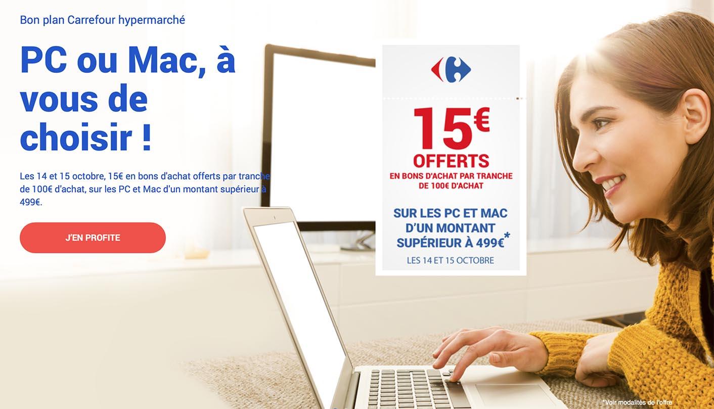 Carrefour promo Mac