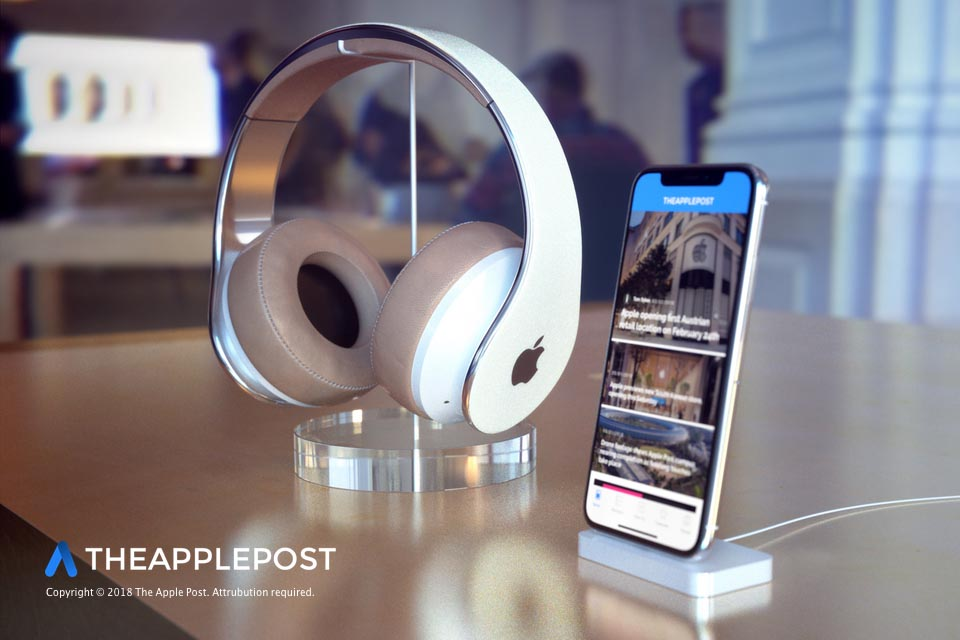 Casque Apple montage 3D