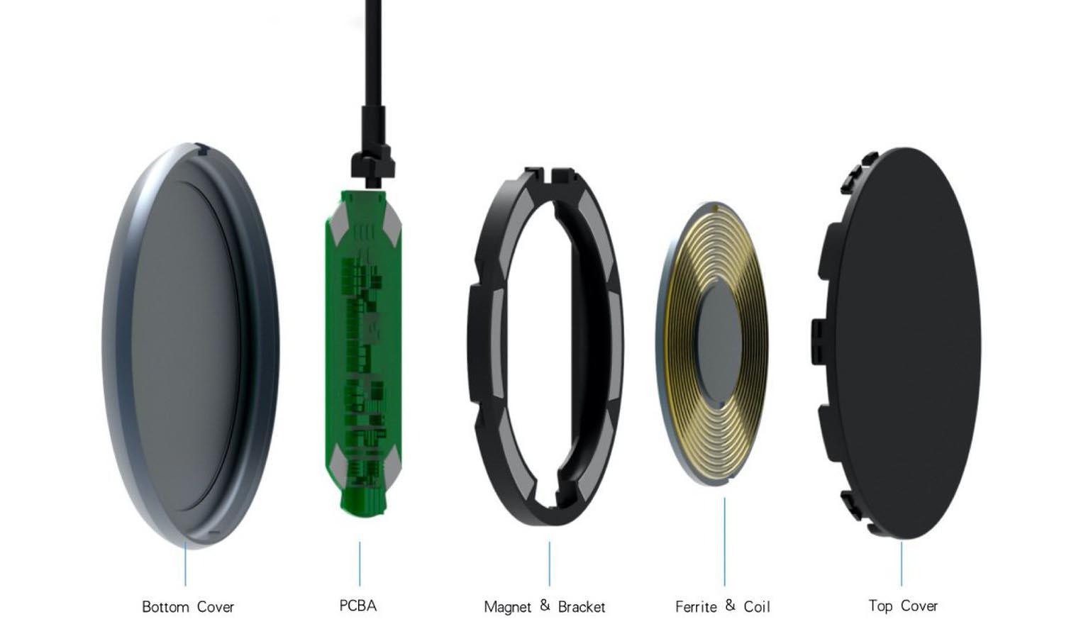 Chargeur sans fil magnétique MPOW