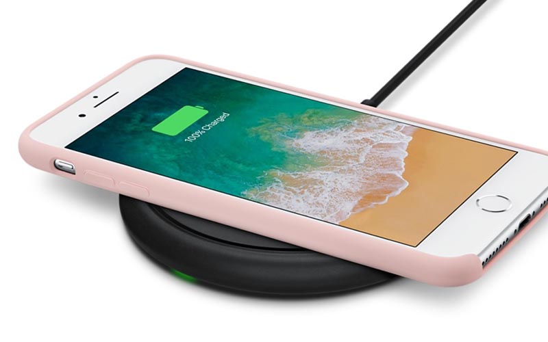 coque iphone 8 compatible chargeur induction