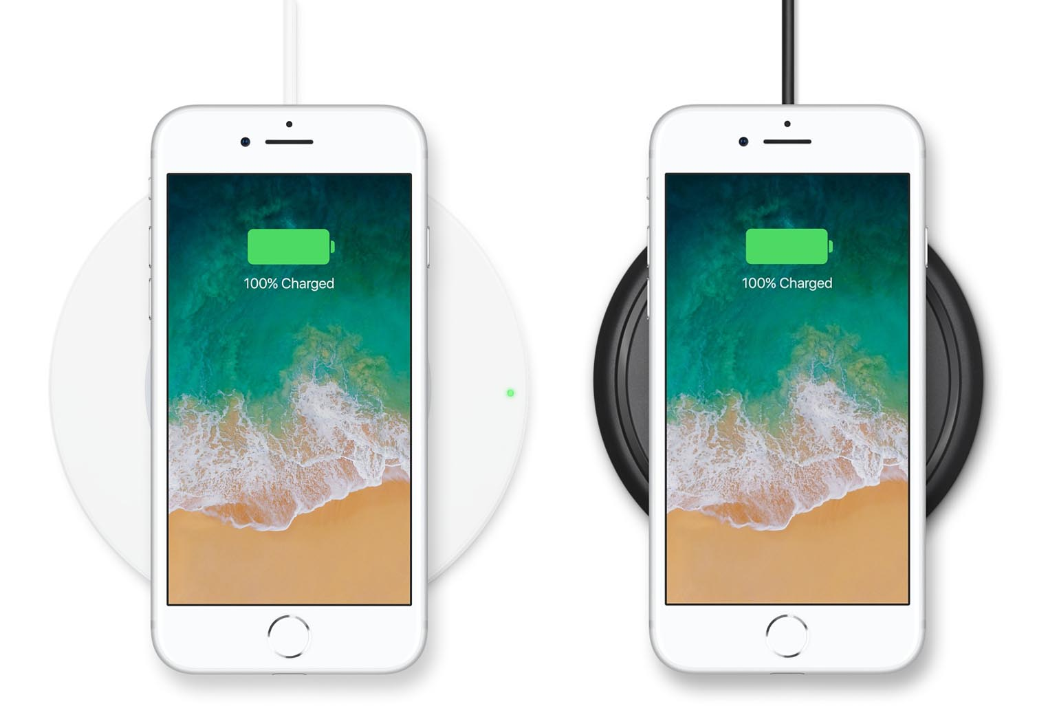 Chargeurs induction Qi iPhone