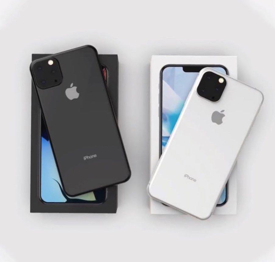 iPhone 2019 rendu 3D
