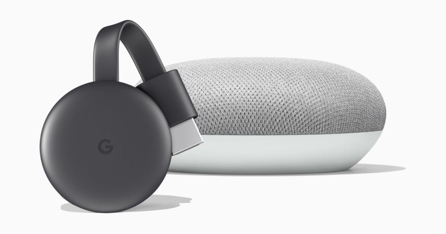 Chromecast Google Home