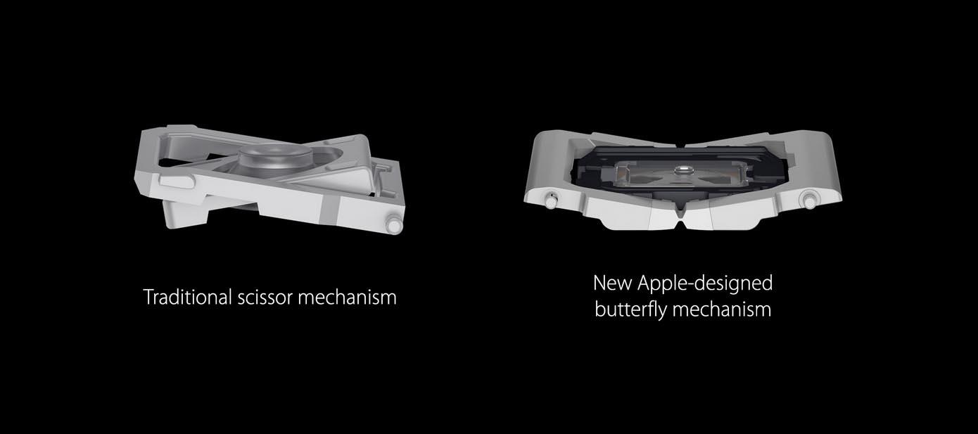 Clavier papillon MacBook 2016
