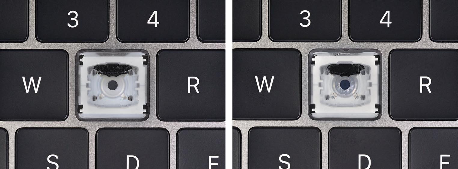Clavier MacBook Pro 2019 iFixit