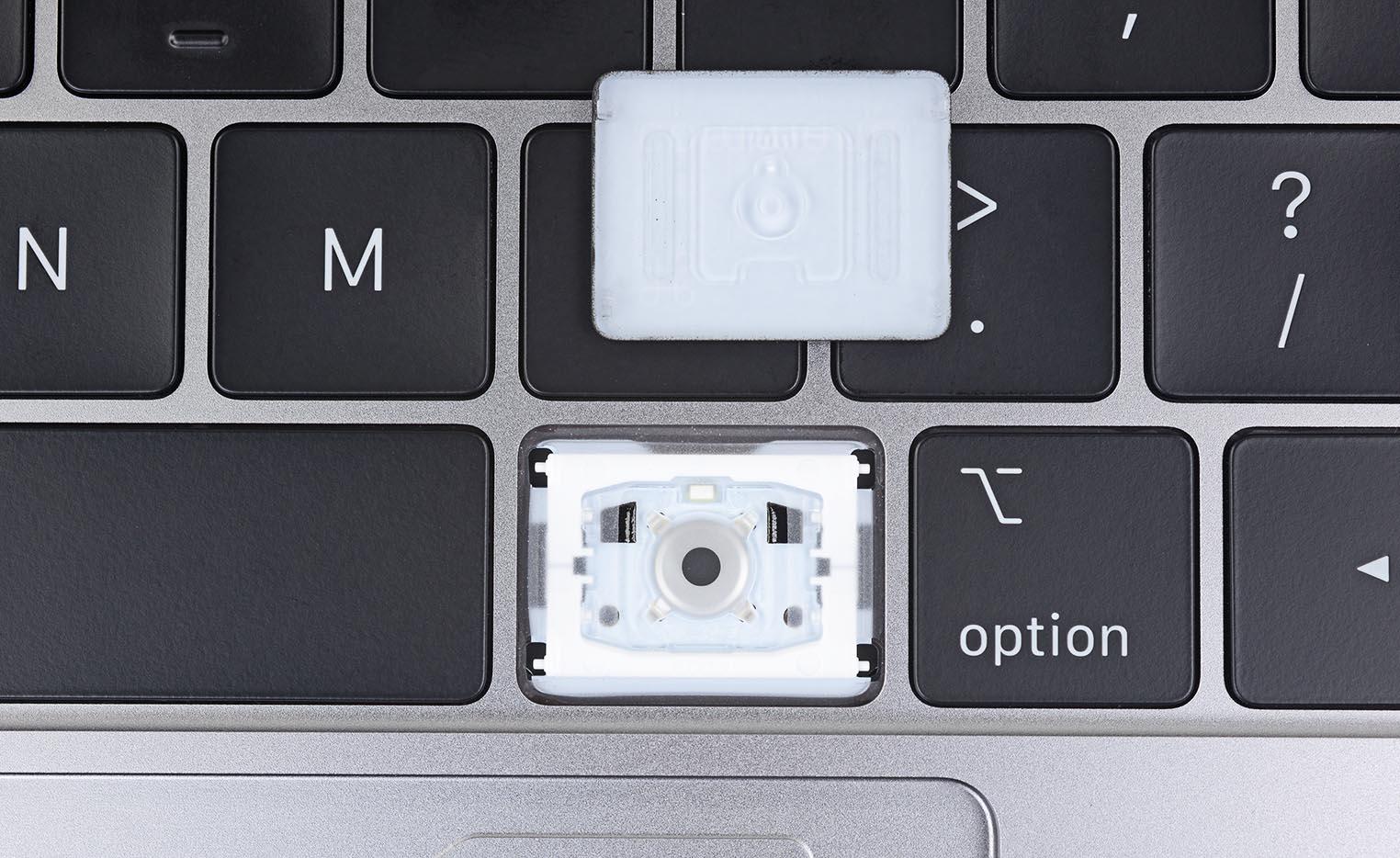 Touche clavier MacBook Pro 2018