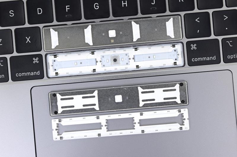 MacBook Pro 2018 touche espace