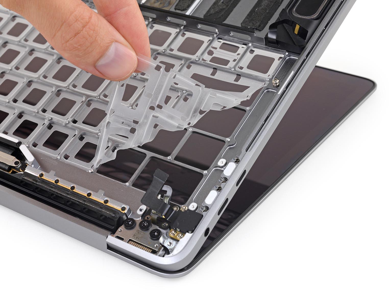 Membrane clavier MacBook Pro 2018