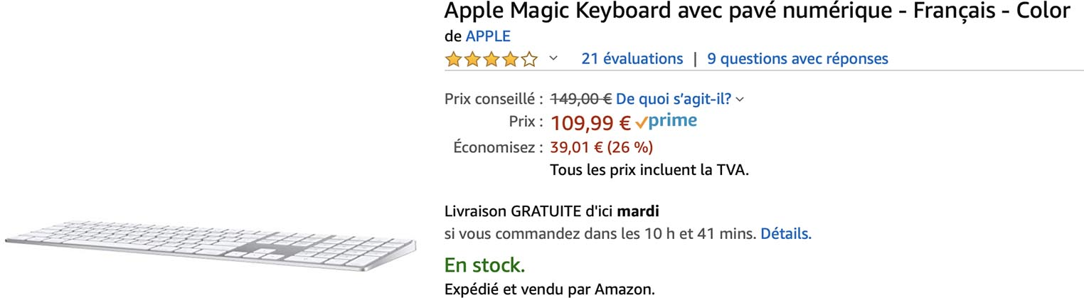 Magic Keyboard Apple