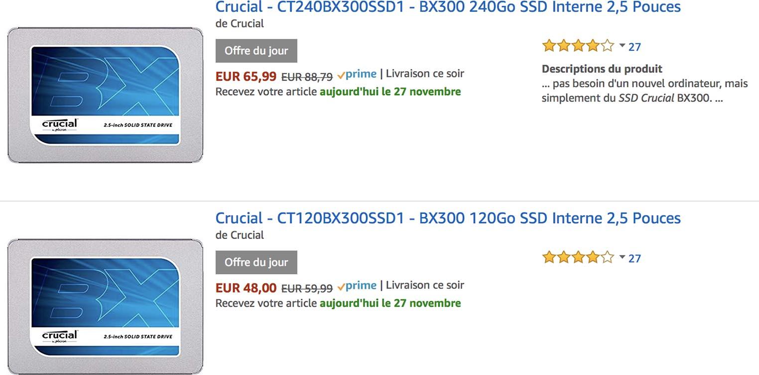 Promo SSD Amazon