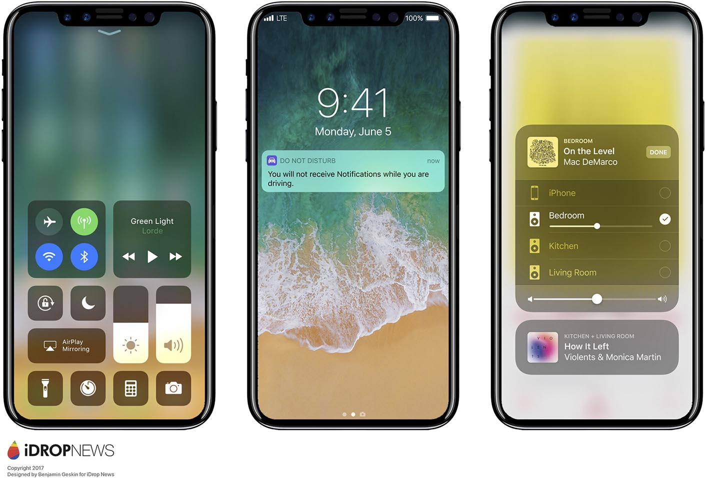 Concept iOS 11 iPhone 8