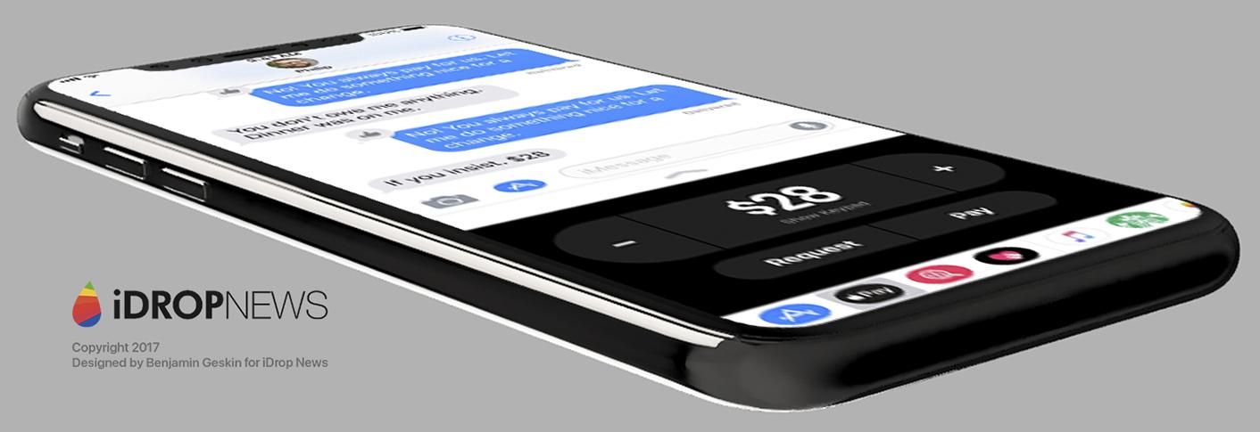 Concept iOS 11 iPhone 8