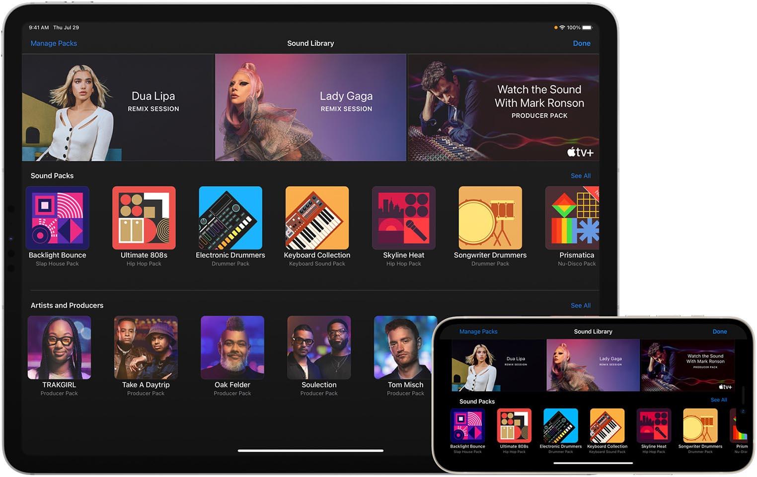 Garageband iPad iPhone