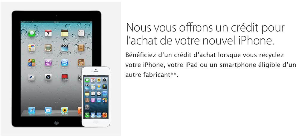consomac apple veut racheter votre t l phone android. Black Bedroom Furniture Sets. Home Design Ideas