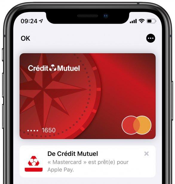 """Résultat de recherche d'images pour """"credit mutuel apple pay"""""""