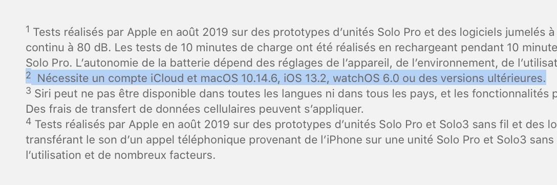 iOS 13.2 date de sortie