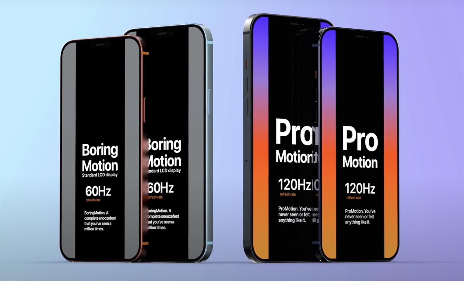iPhone 13 Boring Motion ProMotion