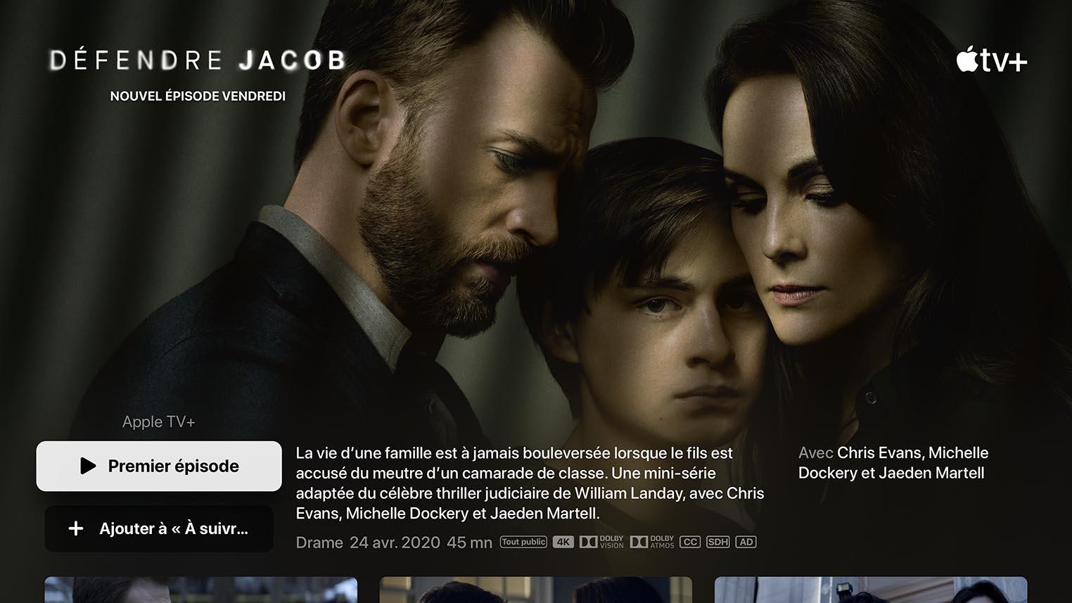 Défendre Jacob Apple TV+