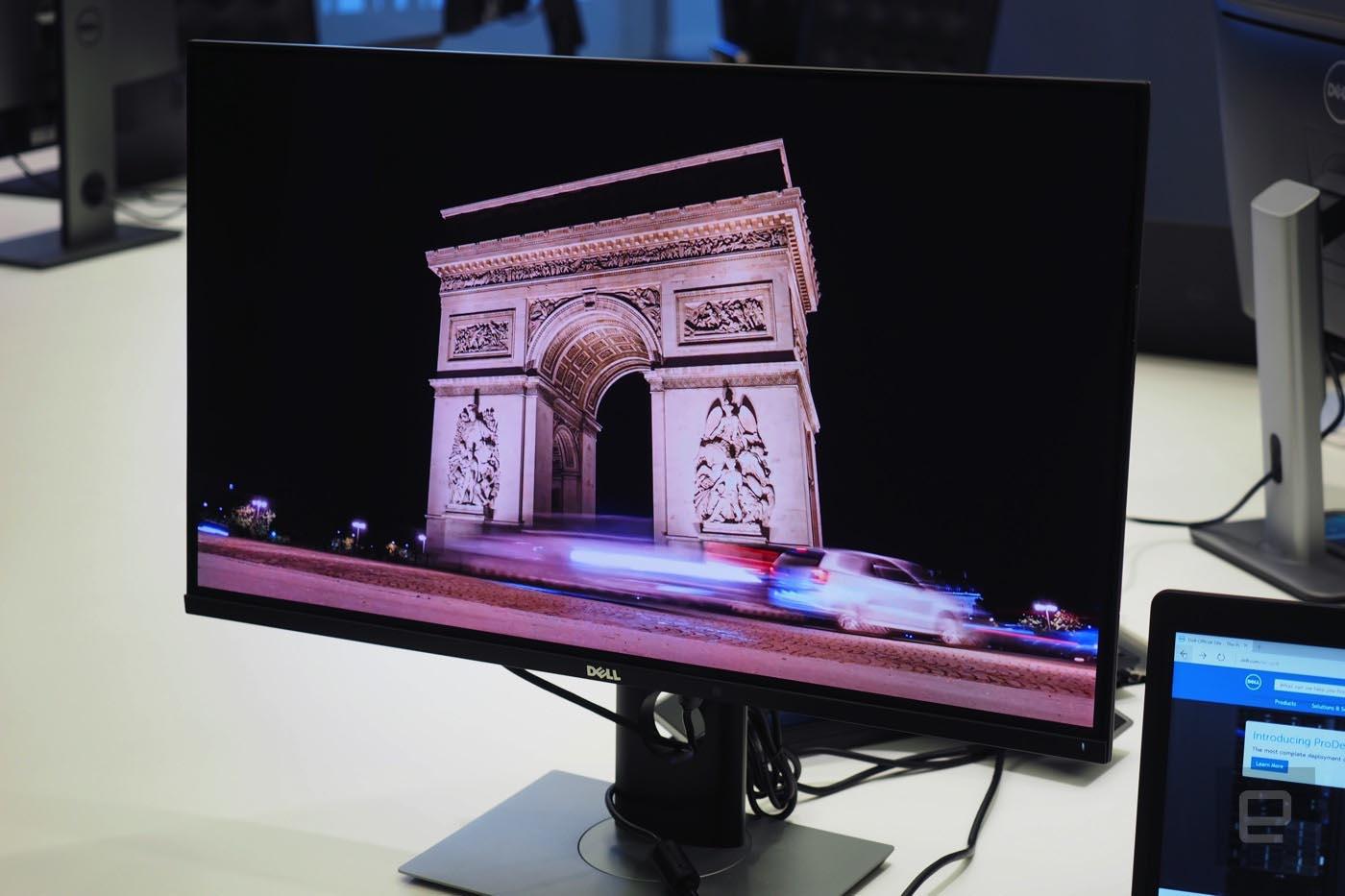 Dell Ultrasharp UP3017Q Contraste
