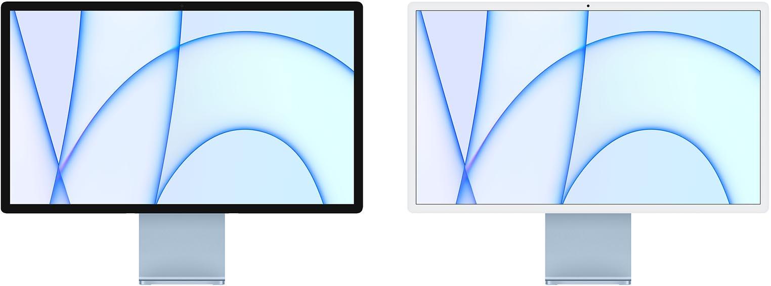 iMac 2021 sans menton