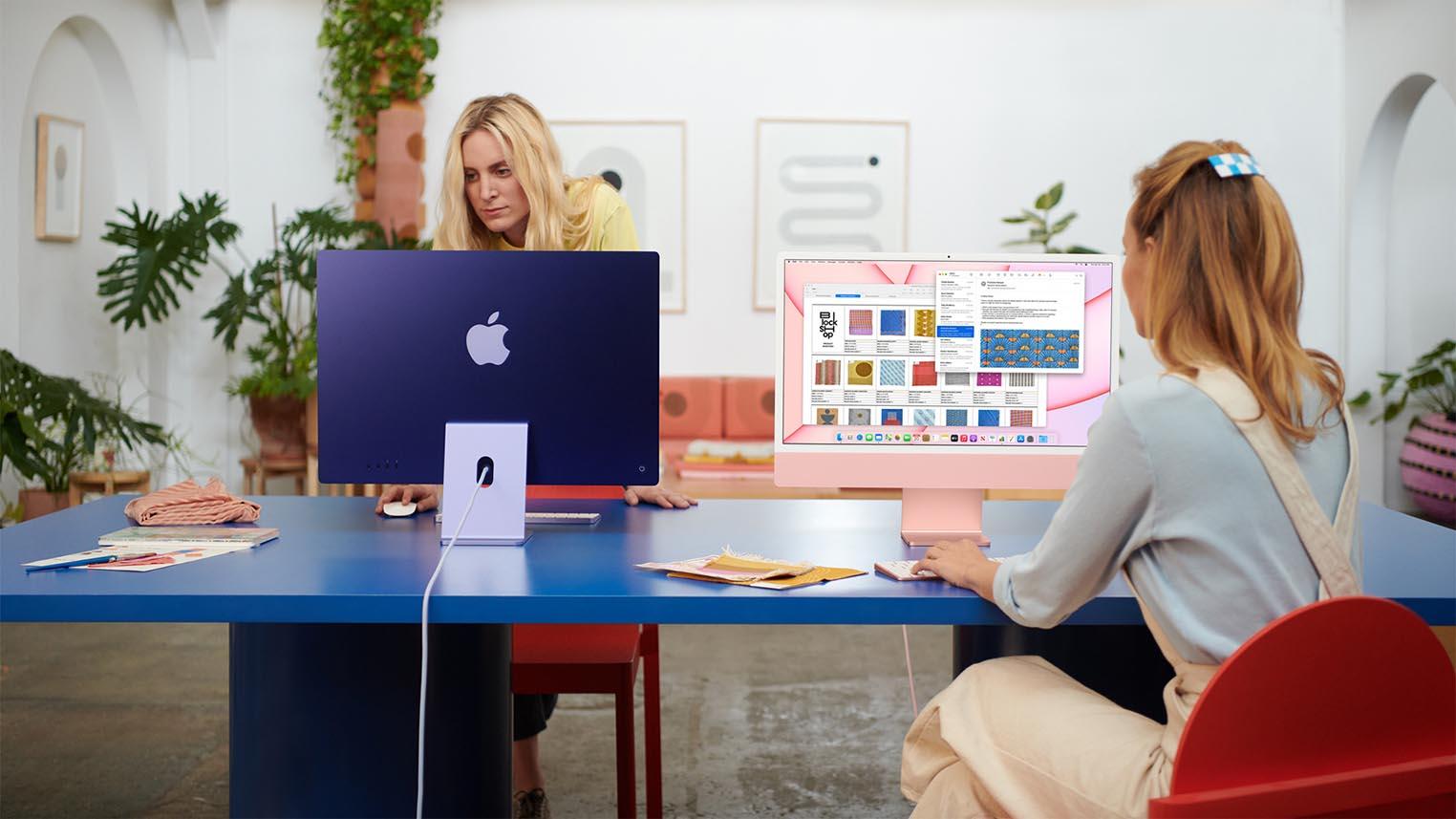 Design iMac 24 pouces 2021