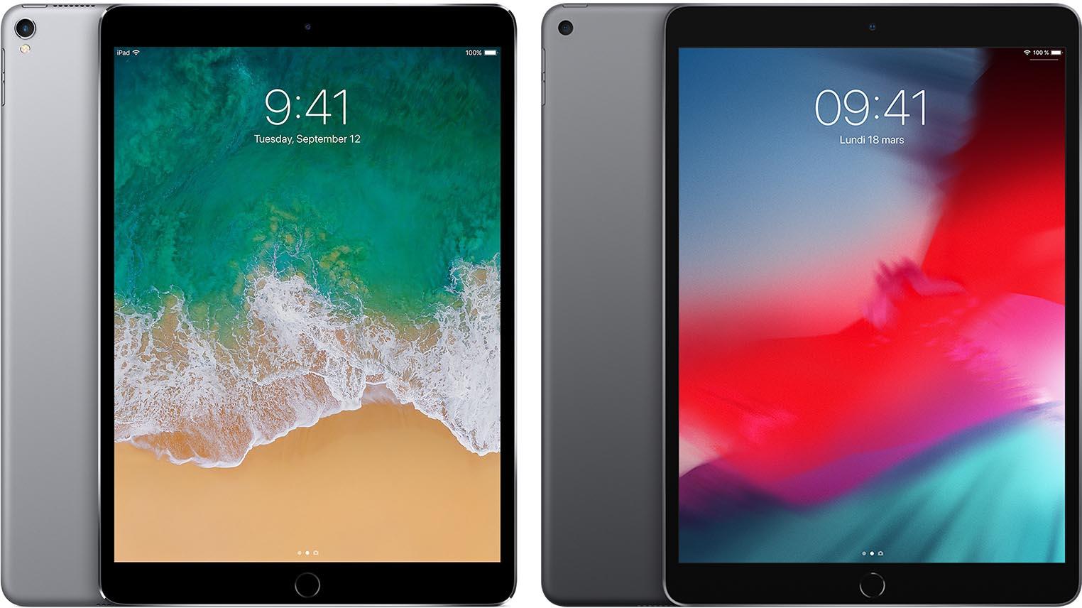 iPad Pro 10,5 pouces iPad Air 3
