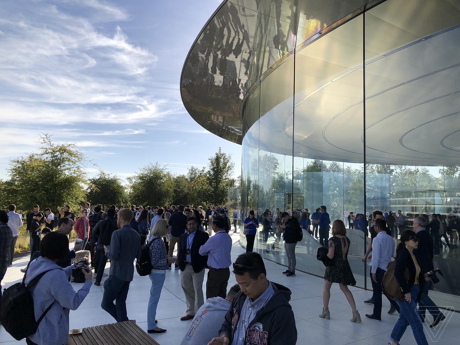 Steve Jobs Theatre septembre 2018