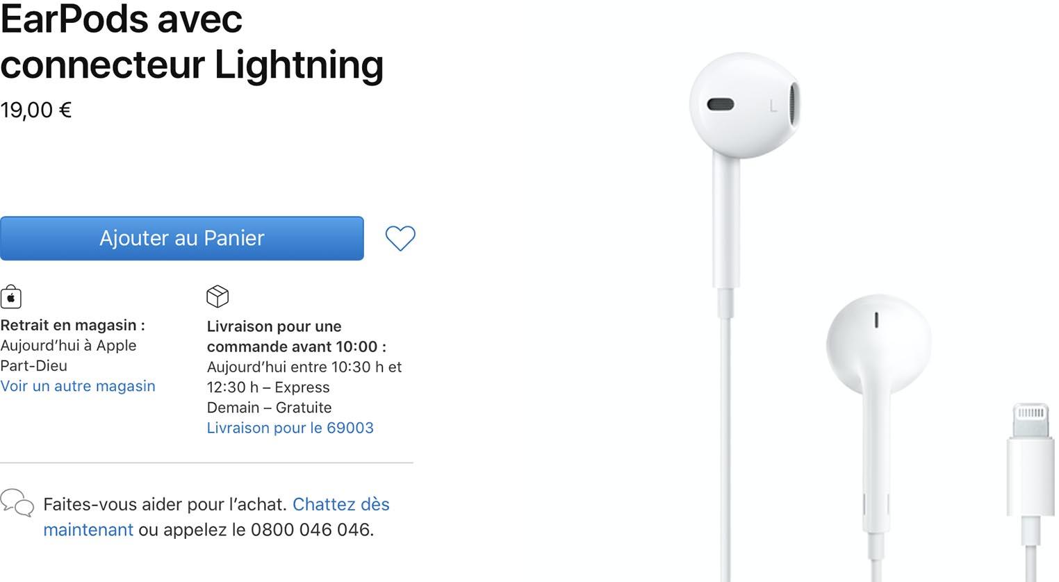 Apple EarPods Apple Store