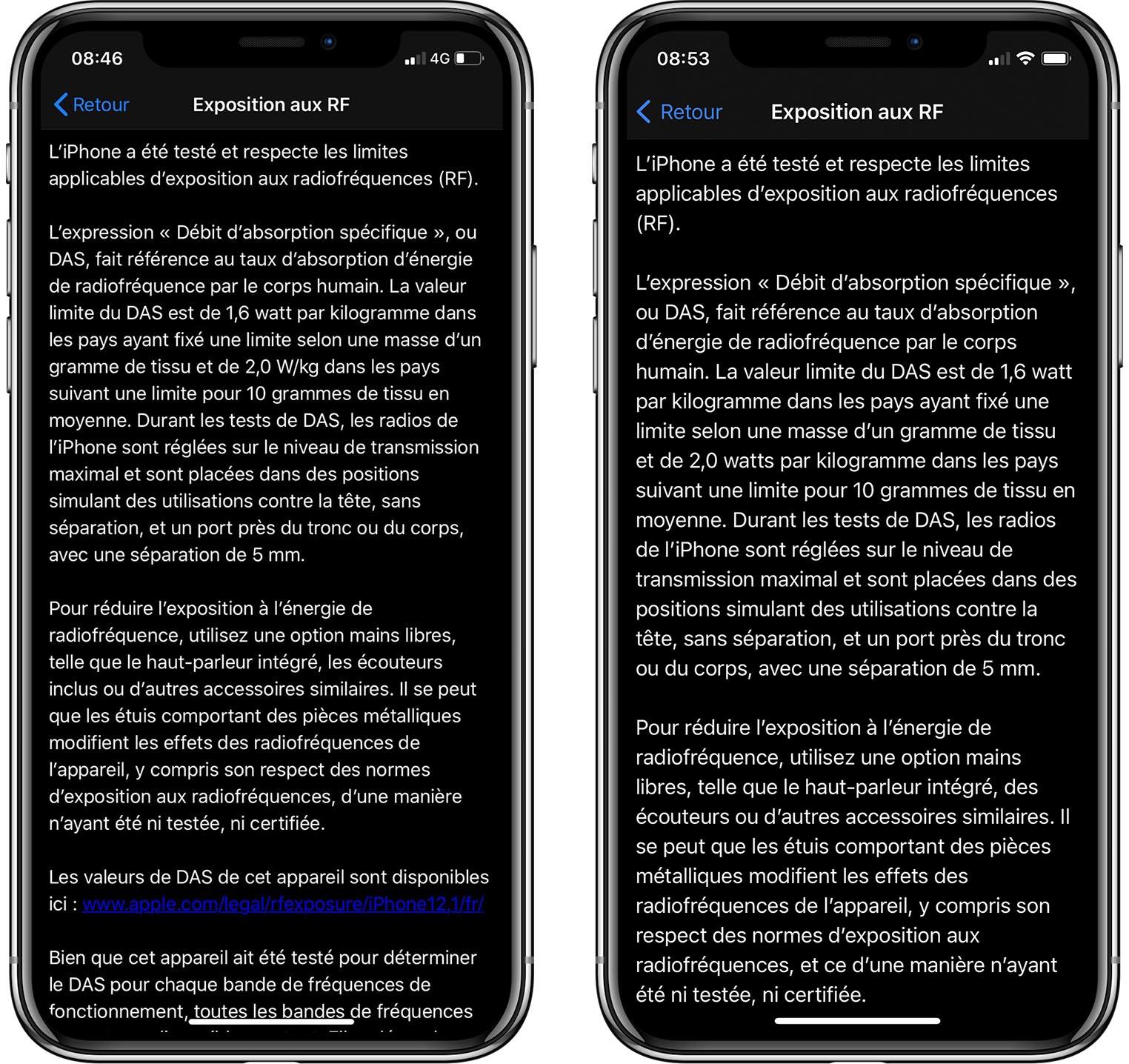 Écouteurs iOS 14.2