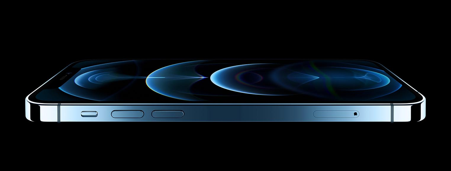 iPhone 12 Pro Max bleu