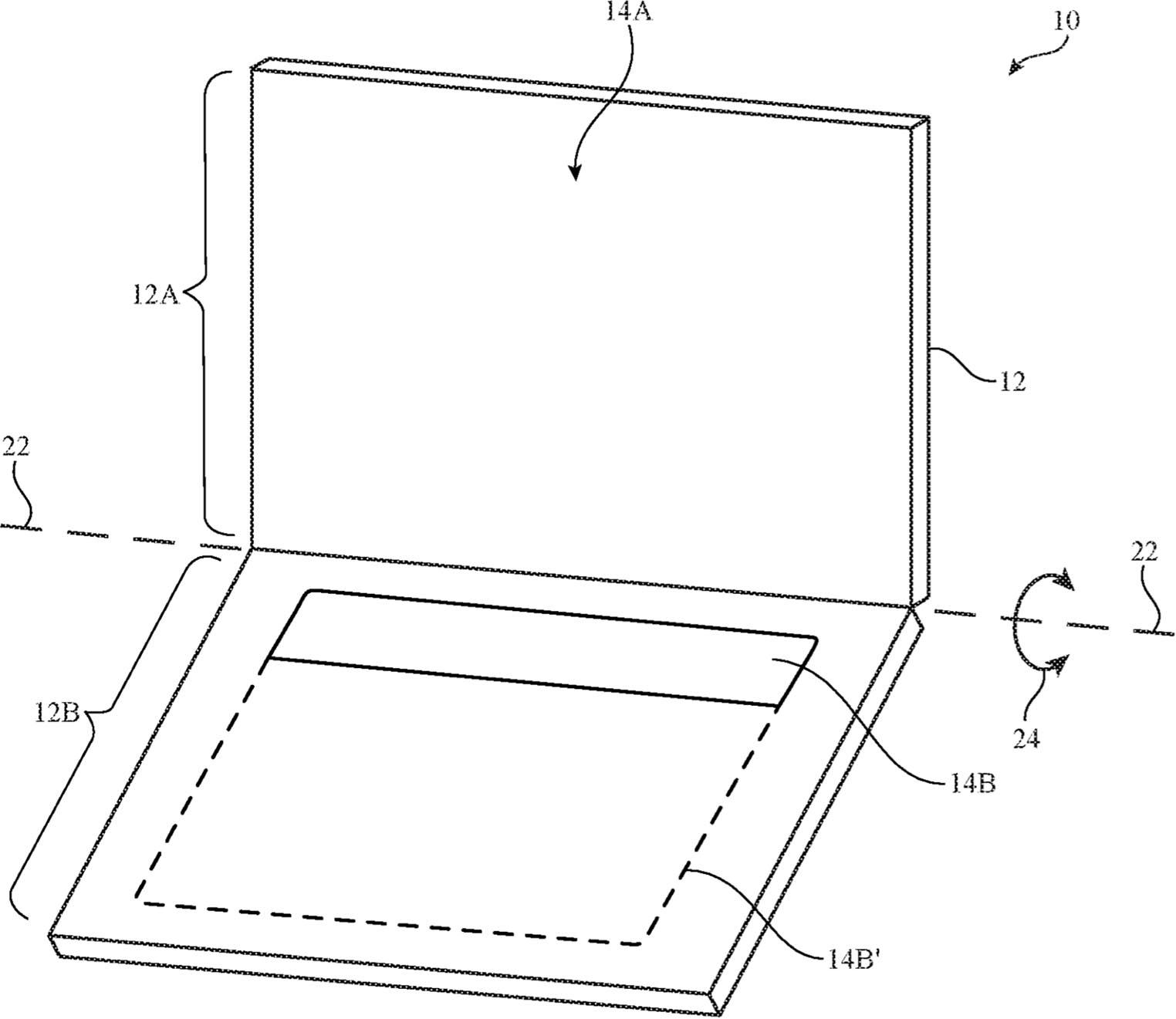Brevet Apple clavier écran