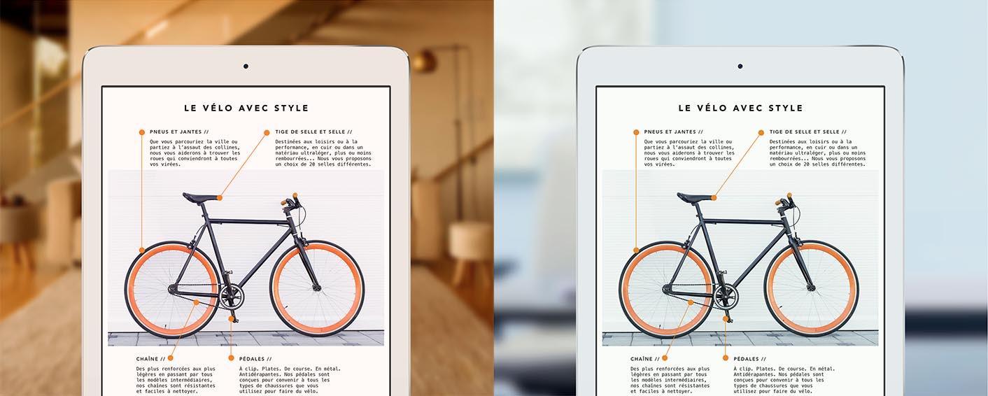 écran iPad Pro